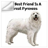 Great pyrenees Wall Decals